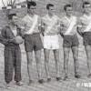"""РК """"Партизан"""" составен од прилепските гимназијалци, првак на градската ракометна лига, 1956 и 1957..."""