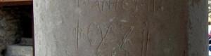 """Натписот во манастирот """"Свети Архангел Михаил"""" - Варош од 996 година..."""
