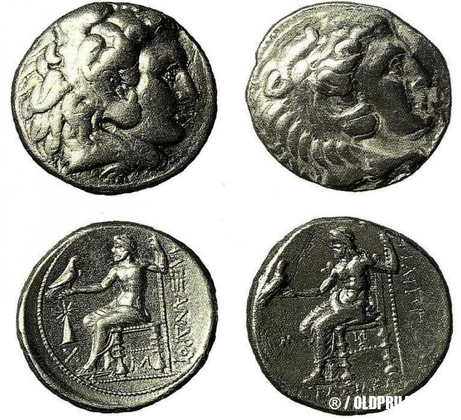 Сребрени тетрадрахми од Александар III Македонски пронајдени во Прилепец...