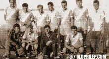 1959: Ракометната екипа на воените лица при Гарнизонот во Прилеп...