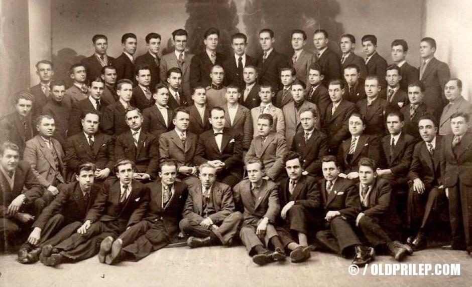 "1936: Црковниот хор при ""Свето Благовештение"""