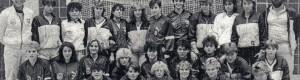 """1986: Младинките на """"Тутунски Комбинат"""" во Западна Германија, со својот домаќин од Манхајм"""