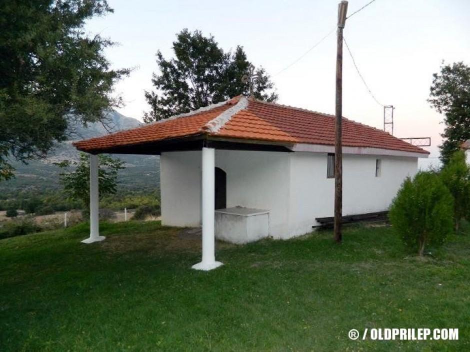 "Манастирската црква ""Свети Георгиј"" во село Беловодица."