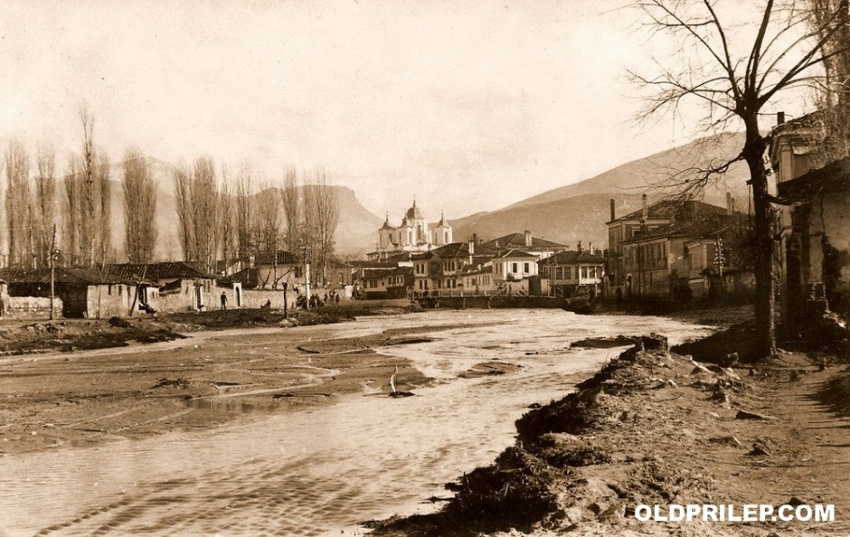 1917: Оревоечка река...