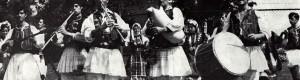 """1970: Пеце Атанасоски заедно со КУД """"Мирче Ацев"""" на гостување во Белгија..."""