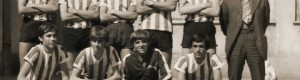 1975/76: Мината со младите ракометари на Тутунски комбинат...