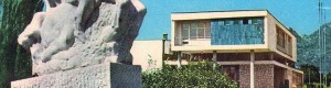 """1967 г.   Споменикот """"Крале Марко"""" изработен од Боро Крстевски, во 1963 година"""