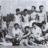 Прилепските атлетичари на Градскиот стадион во Скопје.