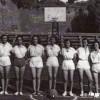 """1949: Женскиот КК """"Гоце Делчев"""", сликани на Калемегдан, на игралиштето на Црвена Звезда"""