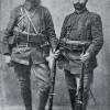 Георги Василев Мончев (десно) со Тодор Александров.