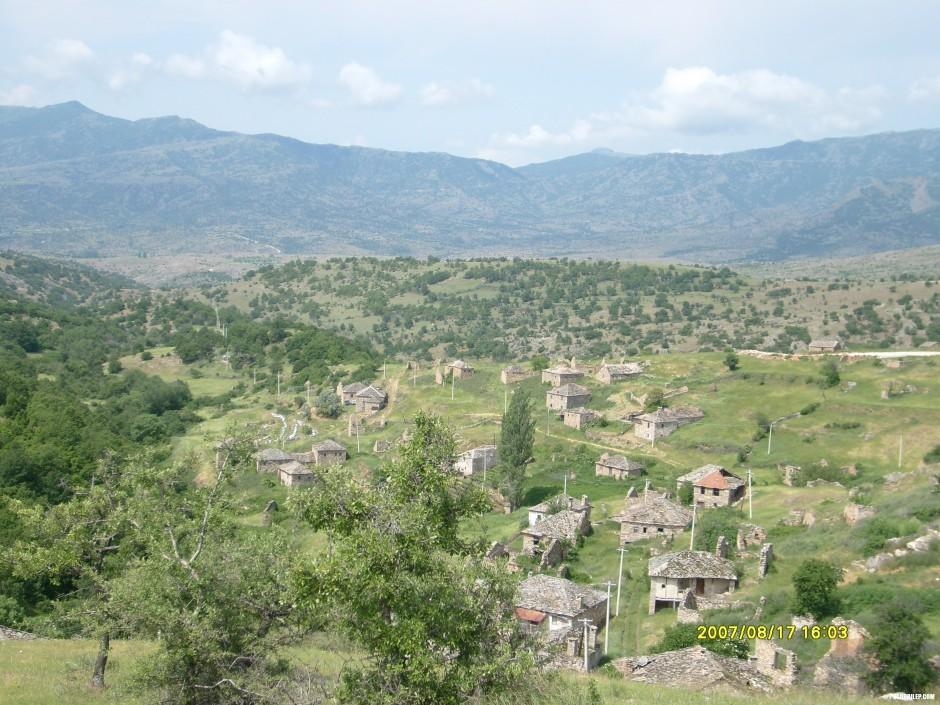 Панорама на Вепрчани.