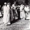 70-те години од минатиот век... Осветување на црквата во Смолани.