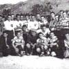 """Заедничка фотографија на СК """"Македонија"""" Прилеп и СК """"Македонија"""" Скопје (1:4), 1941 година."""