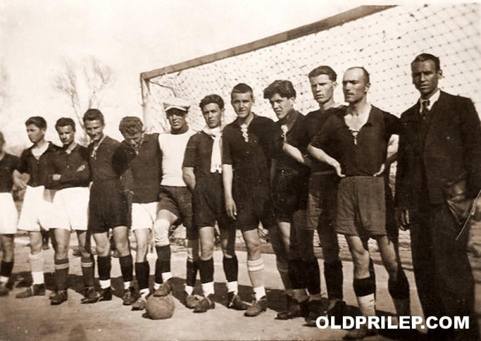 "1941: Фудбалерите на СК ""Гоце Делчев"""