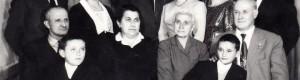 Димко Јашаро со семејството, 1965 година...