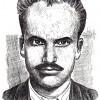 Мирче Доне Ацев (Стојче), (1915-1943); илустрирал: академски сликар Иван Велков, 1972/73.