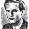 Кире Алексо Гаврилоски (Јане), (1918-1944); илустрирал: академски сликар Иван Велков, 1972/73.