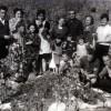 1964 година... Калојновци на гроздобер кај Прчаковци...