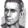 Кузман Цветан Јосифоски (Питу, Методие), (1915-1944), илустрирал: академски сликар Иван Велков во 1972/73 година.