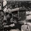 Трактор од стопанството на Славеј.