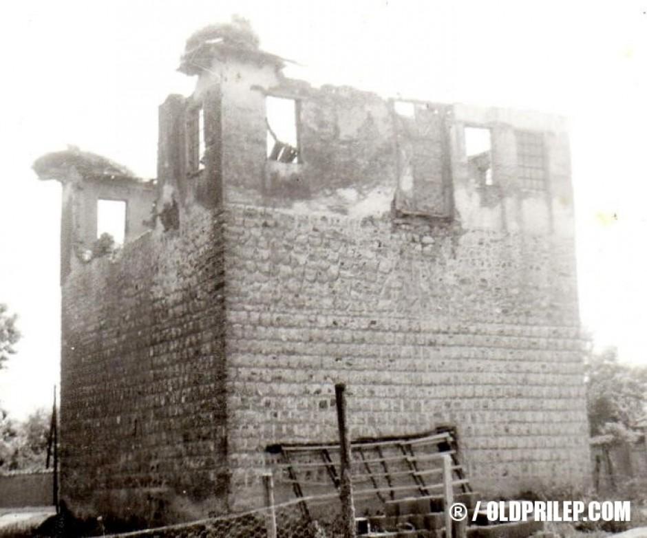Кулата на Ордан Бомбол, изградена 1886 година од турските власти.