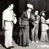 "1980/81: Сцена од претставата ""Болва в уво""."
