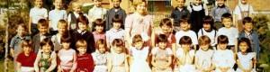 1980/81: I-в одделение, учителка Вера Трајкоска.