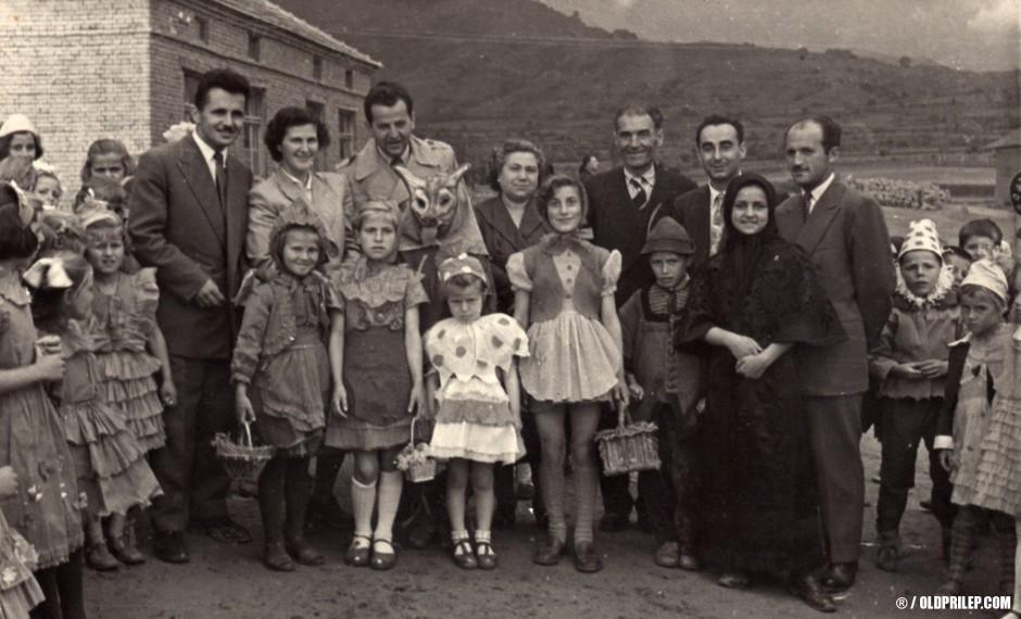 """1955/56: ОУ """"Гоце Делчев"""" (сега ОУ """"Кире Гаврилоски-Јане"""")."""