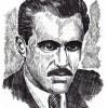 Ѓоре Симо Дамески (Боксерот), (1922-?) Илустрирал: академски сликар Иван Велков во 1972/73 година.