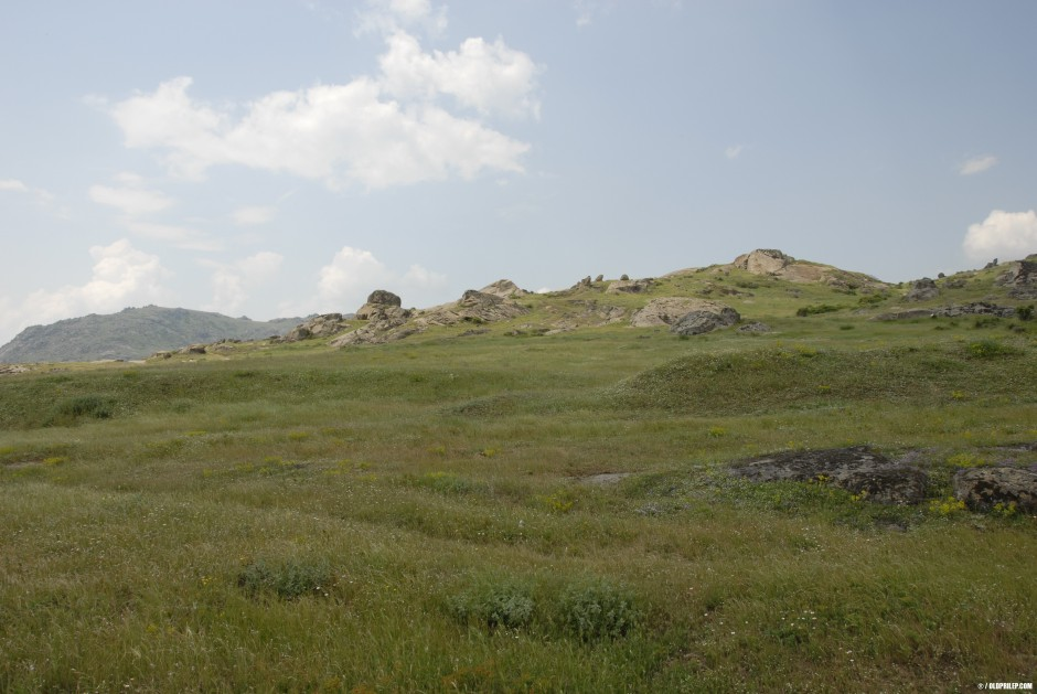 """Локалитетот """"Каменица"""" со поглед кон касарните."""