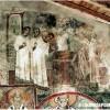 """Фреска: """"Свети Никола го поставуваат за ѓакон"""", јужен брод..."""
