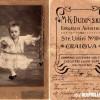 """1909: """"За спомен од вашата внука Флорика Кристова, сликана во Крајова..."""""""