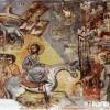 """Фреска """"Христовото влегување во Ерусалим"""" ..."""