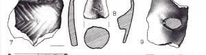"""Археолошки наоди од локалитетот """"Ѓерамиди""""."""