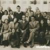 """1952/53: Учениците и наставниците од турската осмолетка """"Намик Кемал"""" во Прилеп."""