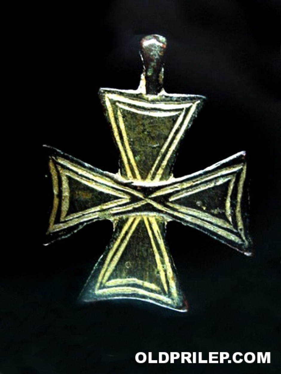 VI век - Прилеп:  Крст - приврзок за на гради.
