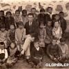 1930: Ученици при училиштето во село Дабница...