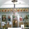 Иконостасот од селската црква во Кореница.