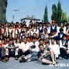 """1991: КУД """"Моминок"""" сликани со колеги од другите балкански земји во Ешме (Турција)"""