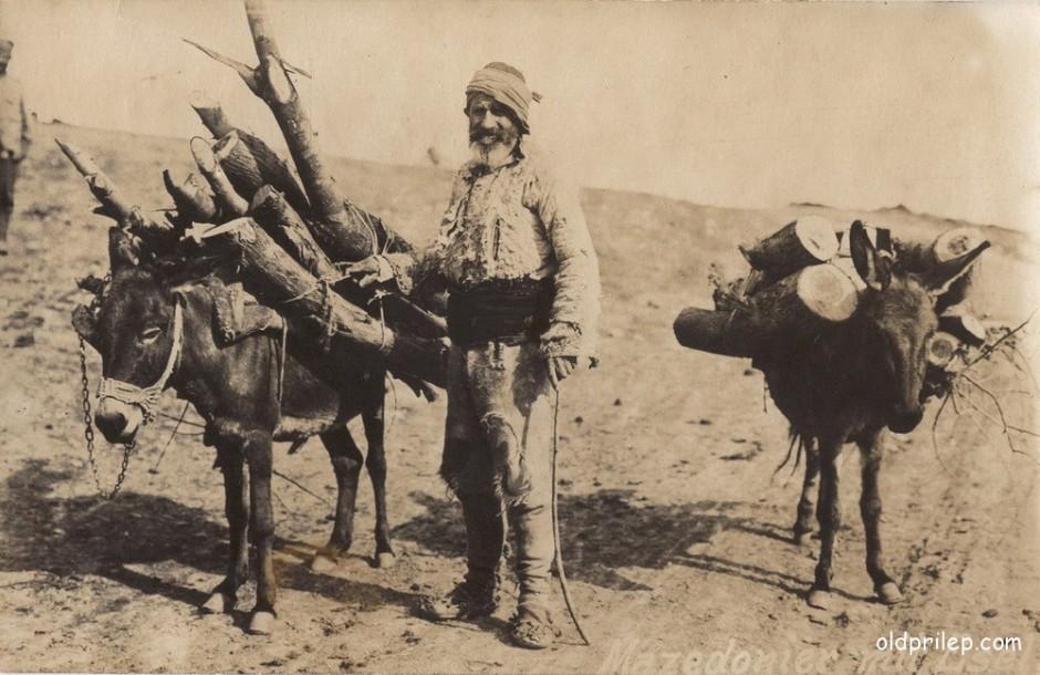 """Прва светска војна: """"Македонец со магариња"""" - Дрвар од прилепско"""