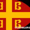 Знамето на Византија во XIV век.