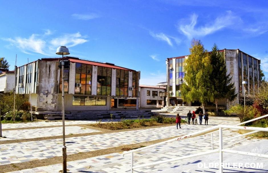 2003: Зградата на Економскиот факултет, проект на Заводот за урбанозам и студии во Прилеп