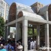 """Црква """"Свети Пантелејмон"""" во дворот на Градската болница."""
