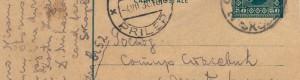 Дописна картичка, 3 јули 1930 година (предна страна)