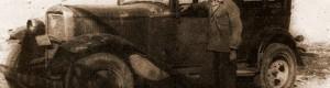 Милан Швацов - Дроња сликан со својот Ford...
