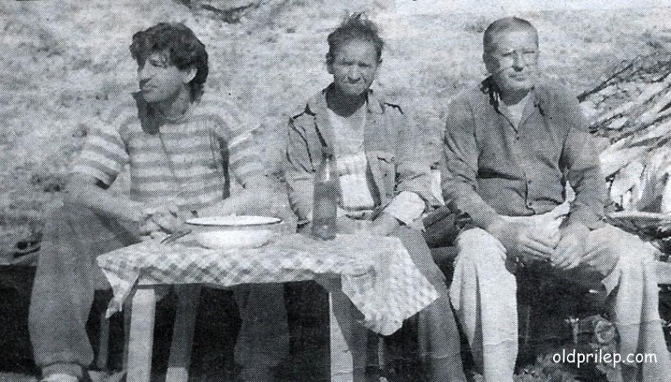 13 февруари 1998: Јован Рупкоски и професорот Петар Башески