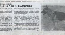 """20 септември 1991: """"Ревија на расни љубимци """" - """"Народен Глас"""""""