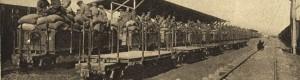 1917: Железничката станица во Градско