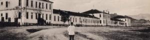 1917: Пред воената болница 210 во Прилепските касарни