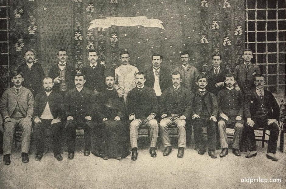 Учебна 1892-1893: Дасакали при централно машко училиште во Прилеп